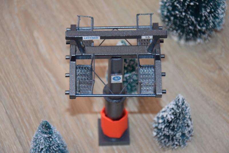 Impression 3D Pylône remontée mécanique miniature Dsc_2289