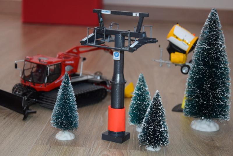 Impression 3D Pylône remontée mécanique miniature Dsc_2290