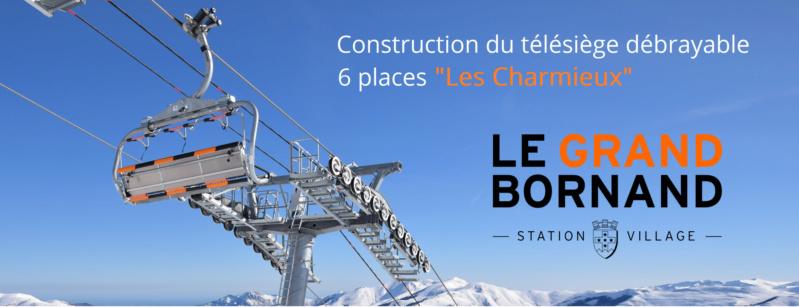 Construction télésiège débrayable (TSD6) les Charmieux - Grand Bornand Dsc_2364