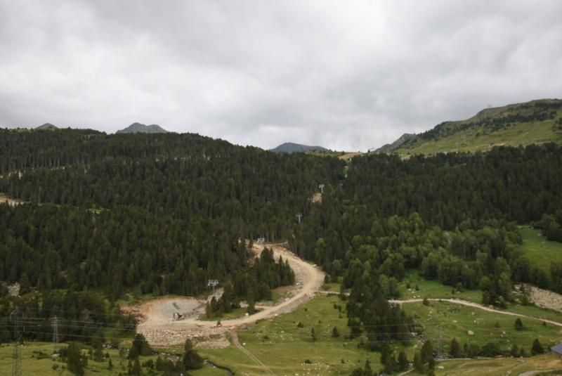 Extension, prolongation télésiège débrayable (TSD6) Pla de les Pedres Grau Roig – Grandvalira Dsc_2539