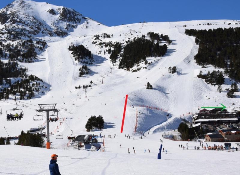 Extension, prolongation télésiège débrayable (TSD6) Pla de les Pedres Grau Roig – Grandvalira Dsc_3190