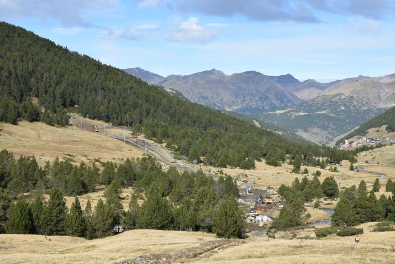 Extension, prolongation télésiège débrayable (TSD6) Pla de les Pedres Grau Roig – Grandvalira Dsc_3235