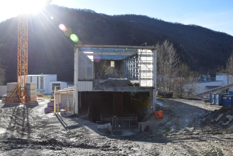 Construction téléphérique convoyeur de Talc Imerys Luzenac Dsc_3469