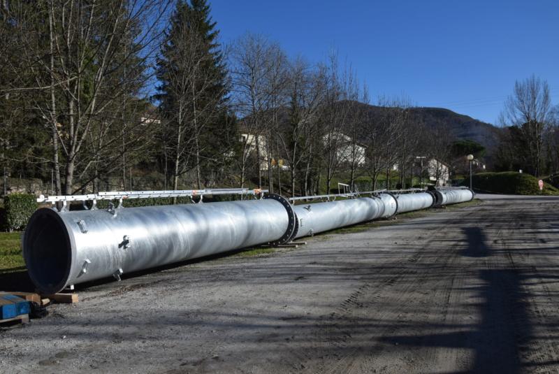 Construction téléphérique convoyeur de Talc Imerys Luzenac Dsc_3470