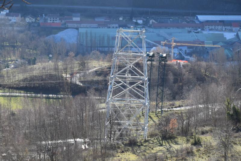 Construction téléphérique convoyeur de Talc Imerys Luzenac Dsc_3473