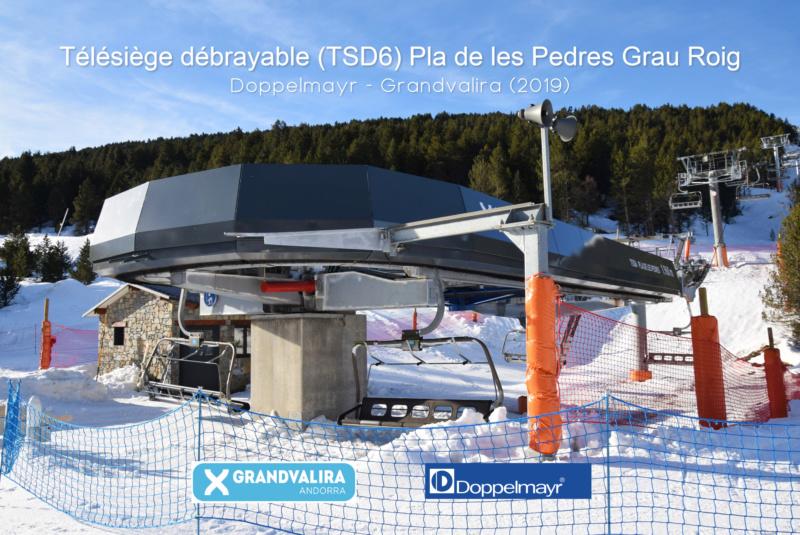 Extension, prolongation télésiège débrayable (TSD6) Pla de les Pedres Grau Roig – Grandvalira Dsc_4201