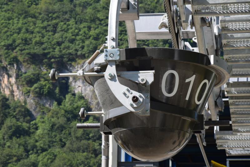 Construction téléphérique convoyeur de Talc Imerys Luzenac Dsc_4768