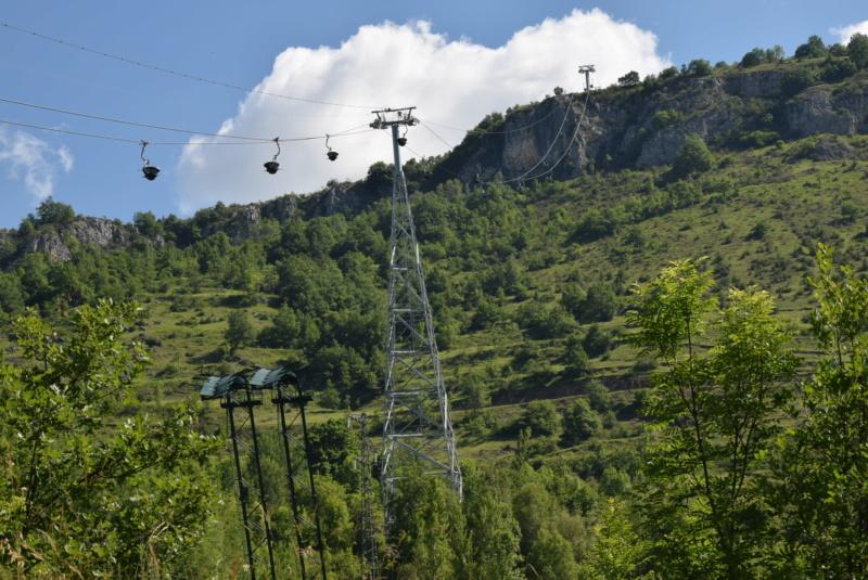Téléphérique convoyeur de talc - Luzenac Imerys Trimouns (Poma) Dsc_4785