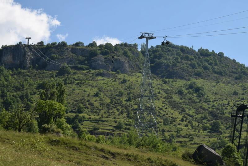 Téléphérique convoyeur de talc - Luzenac Imerys Trimouns (Poma) Dsc_4787
