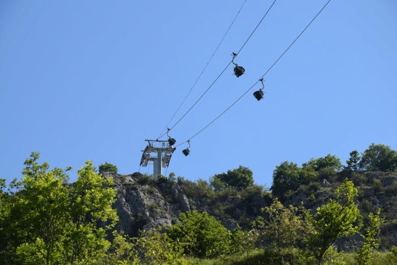 Téléphérique convoyeur de talc - Luzenac Imerys Trimouns (Poma) Dsc_4788