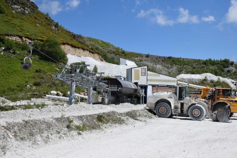Téléphérique convoyeur de talc - Luzenac Imerys Trimouns (Poma) Dsc_4804