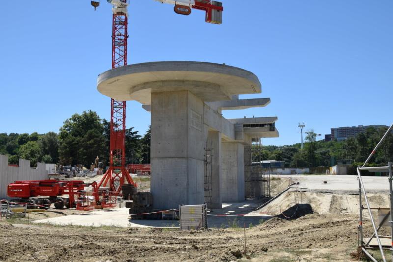 Construction téléphérique Téléo Toulouse - Page 2 Dsc_4873