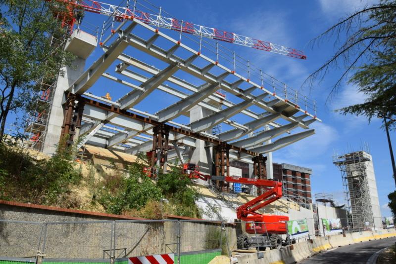 Construction téléphérique Téléo Toulouse - Page 2 Dsc_5021