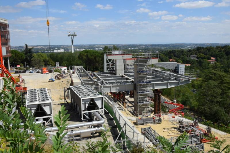 Construction téléphérique Téléo Toulouse - Page 2 Dsc_5025