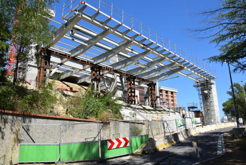 Construction téléphérique Téléo Toulouse - Page 2 Dsc_5285