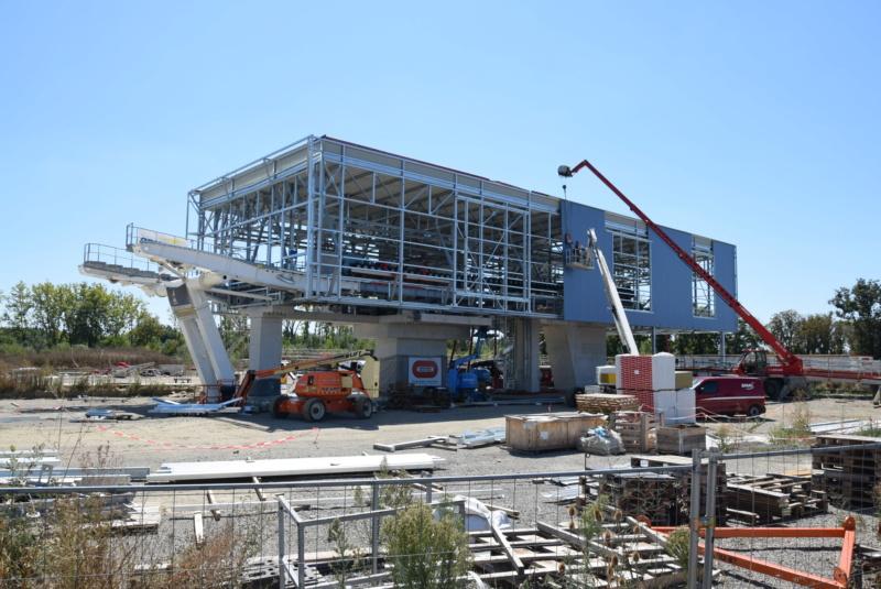 Construction téléphérique Téléo Toulouse - Page 2 Dsc_5291
