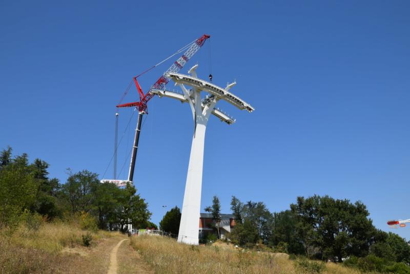 Montage de la ligne et des pylônes Téléphérique Téléo Toulouse Dsc_5573