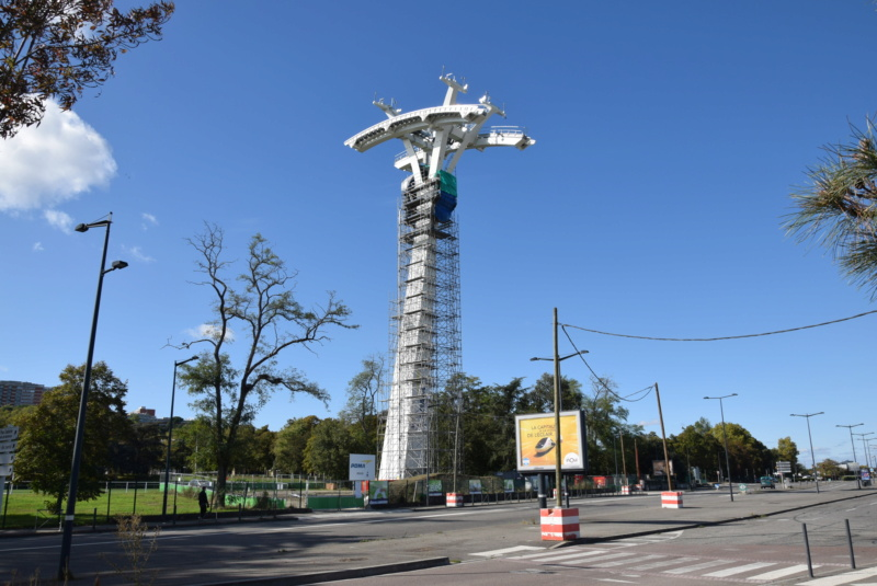Montage de la ligne et des pylônes Téléphérique Téléo Toulouse Dsc_5577