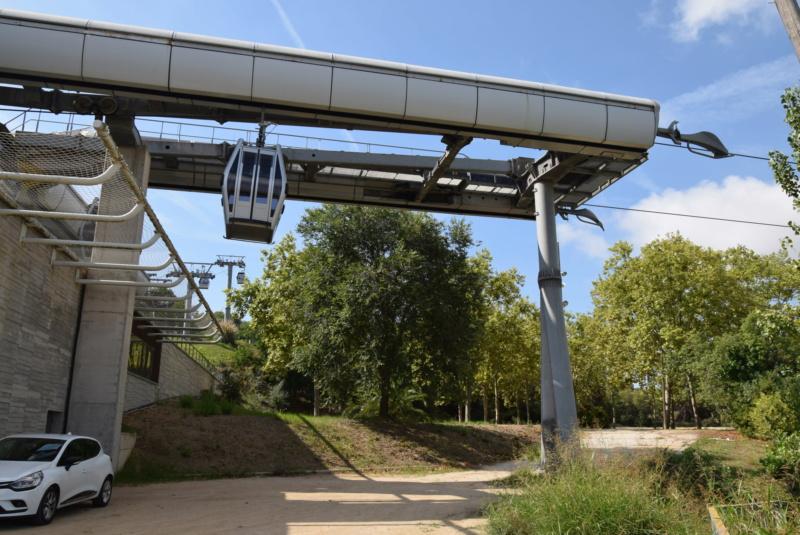 Télécabine débrayable 8 places (TCD8) Montjuïc - Barcelone Dsc_6151
