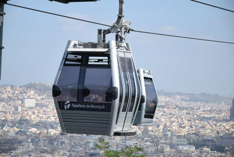 Télécabine débrayable 8 places (TCD8) Montjuïc - Barcelone Dsc_6162