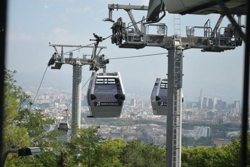 Télécabine débrayable 8 places (TCD8) Montjuïc - Barcelone Dsc_6167
