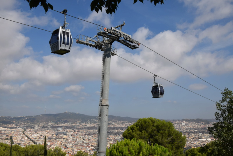 Télécabine débrayable 8 places (TCD8) Montjuïc - Barcelone Dsc_6173