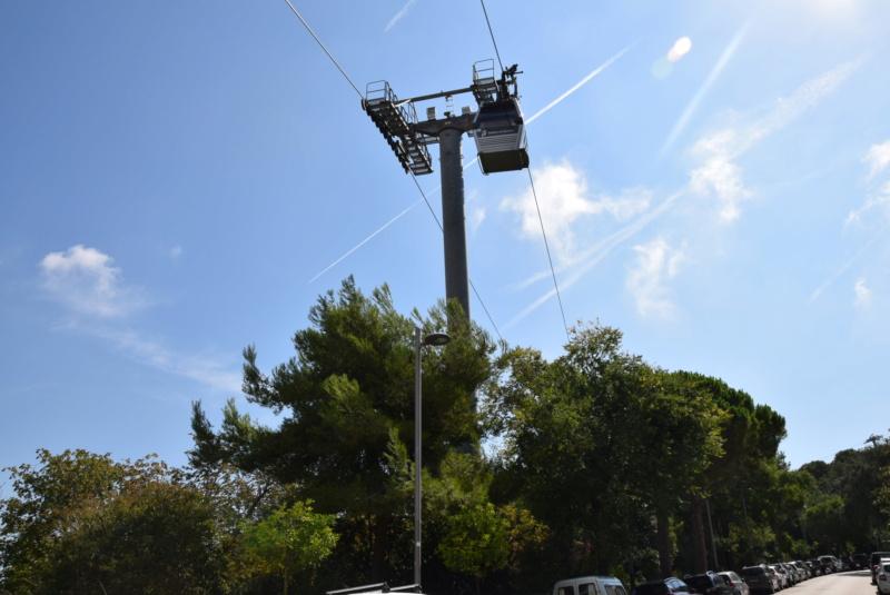 Télécabine débrayable 8 places (TCD8) Montjuïc - Barcelone Dsc_6176