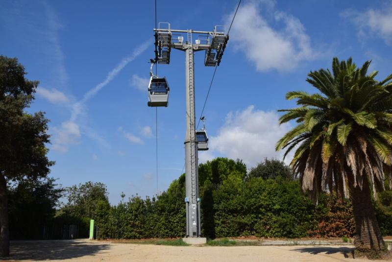 Télécabine débrayable 8 places (TCD8) Montjuïc - Barcelone Dsc_6178