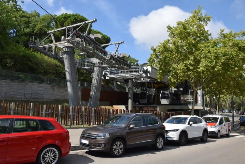 Télécabine débrayable 8 places (TCD8) Montjuïc - Barcelone Dsc_6182