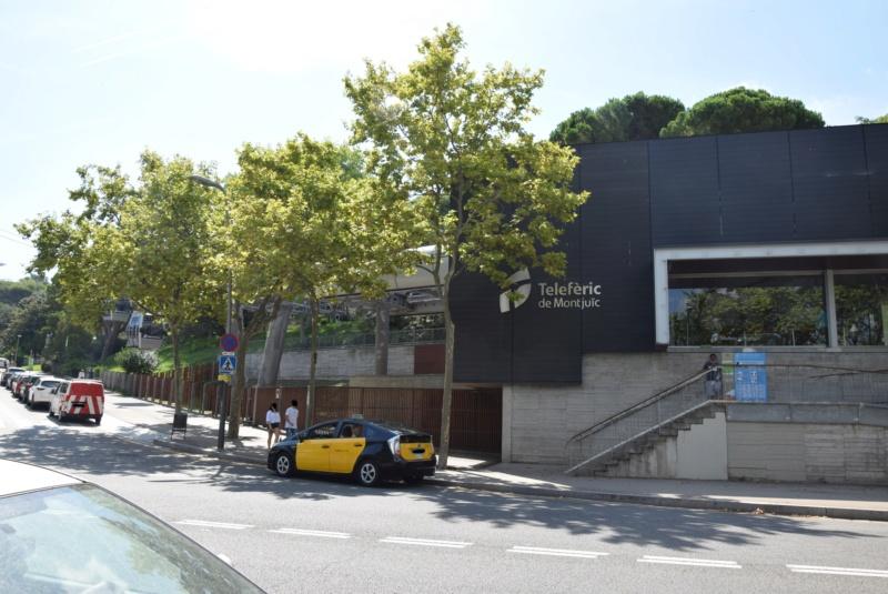 Télécabine débrayable 8 places (TCD8) Montjuïc - Barcelone Dsc_6185