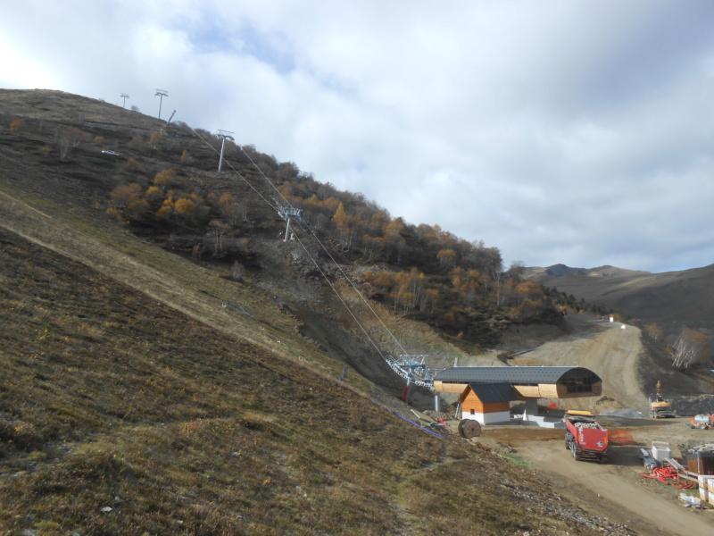 Construction du télésiège débrayable 6 places (TSD6) Bouleaux Dscn3415