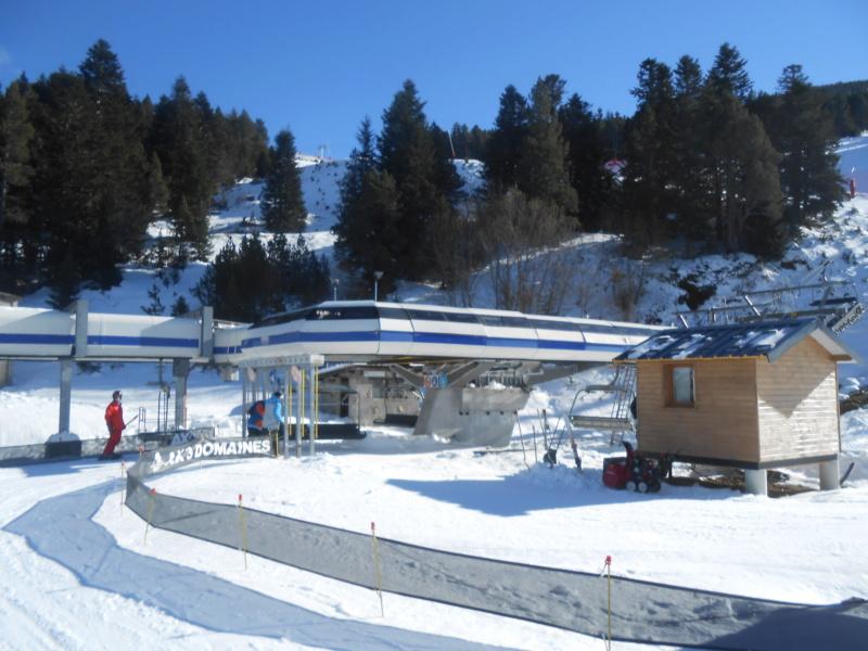 Modification gare aval Télésiège débrayable Tute (TSD6) - Ax Dscn3511