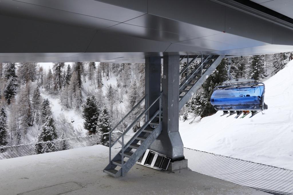 Télésiège débrayable 6 places (TSD6) Bendolla Col du Pouce Escali11