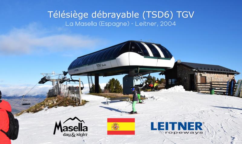 Télésiège débrayable 6 places (TSD6) TGV Masella G1-tcd42