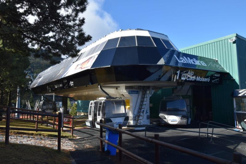 Télécabine débrayable 8 places (TCD8) Cadi-Moixero - Alp 2500 G1-tcd50