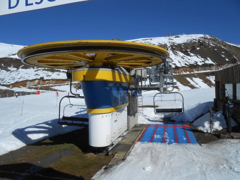 Télésiège fixe 4 places (TSF4) Col d'Escot G1-tsf12