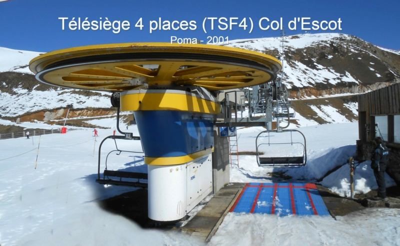 Télésiège fixe 4 places (TSF4) Col d'Escot G1-tsf69