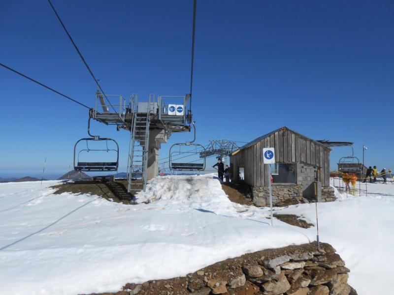 Télésiège fixe 4 places (TSF4) Col d'Escot G2-tsf10