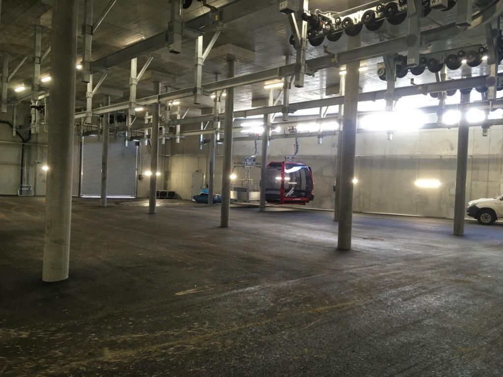 Télécabine débrayable 10 places (TCD10) Zinal - Sorebois - Espace Weisshorn Garage10