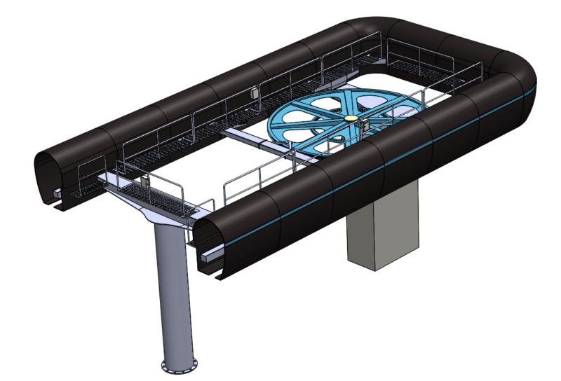 Gares télésièges débrayables à couverture basse Gare110