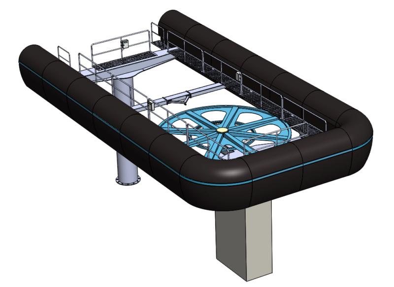 Gares télésièges débrayables à couverture basse Gare210