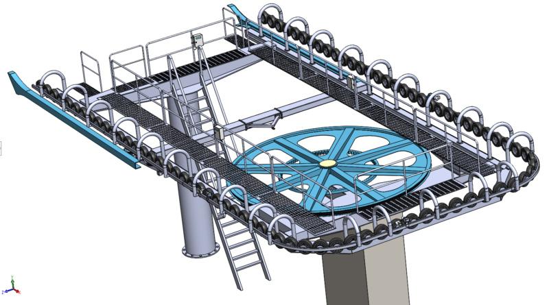 Dessins techniques & plans 3D remontées mécaniques - Page 2 Gare211