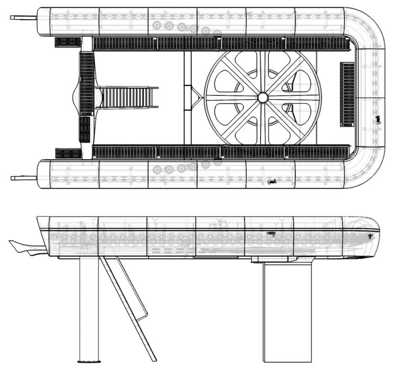 Dessins techniques & plans 3D remontées mécaniques - Page 2 Gare410