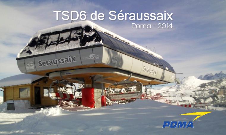 Télésiège débrayables 6 places (TSD6) Séraussaix Gare_a10
