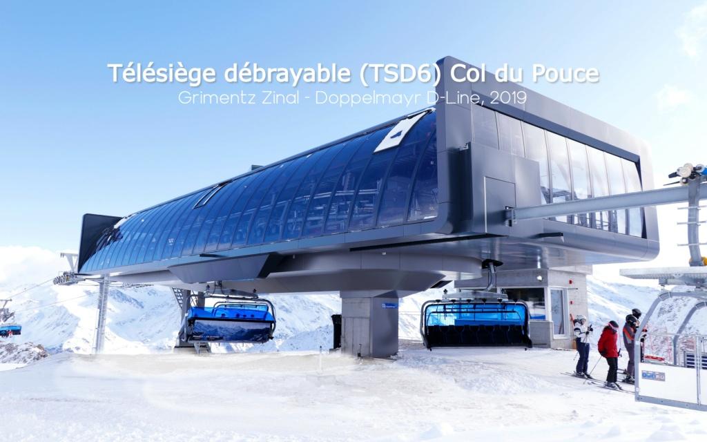 Télésiège débrayable 6 places (TSD6) Bendolla Col du Pouce Gare_a20