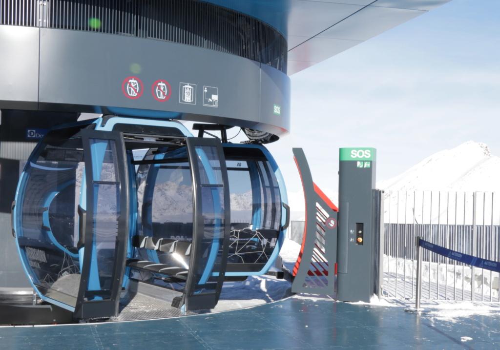 Télécabine débrayable 10 places (TCD10) Kumme Gare_a21