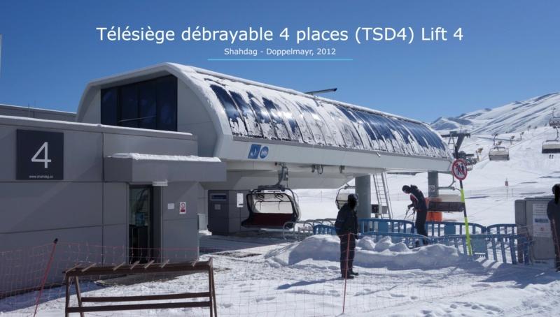 Télésiège débrayable 4 places (TSD4) Lift 4 - Shahdag Gare_a45