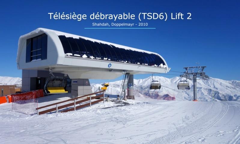 Télésiège débrayable 4 places (TSD4) Lift 2 - Shahdag Gare_a49