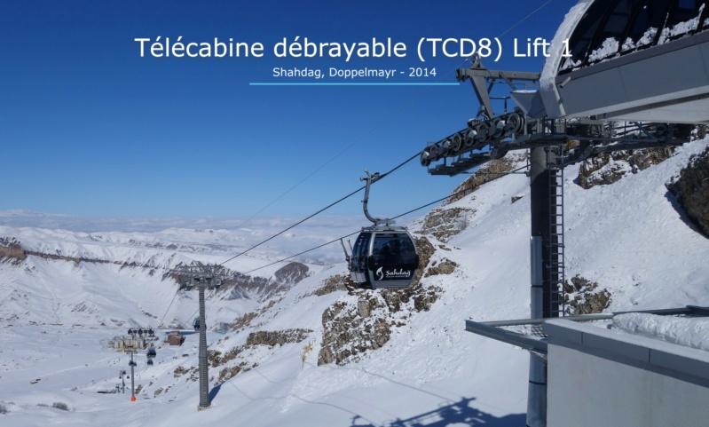 Télécabine débrayable 8 places (TCD8) Lift 1 - Shahdag Gare_a51