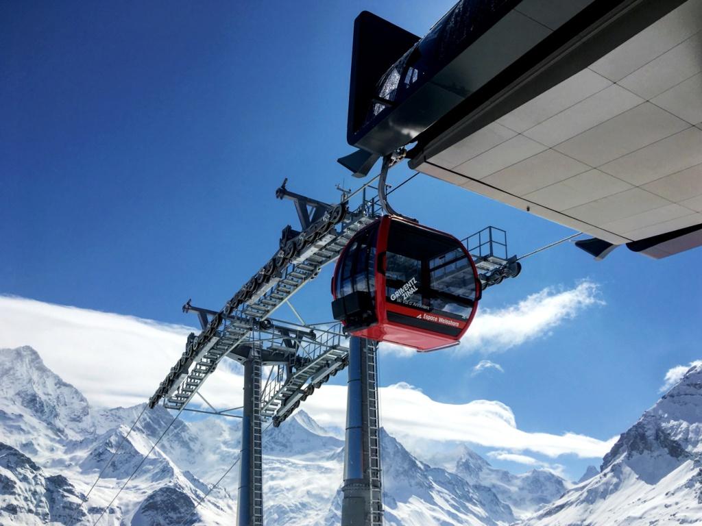 Télécabine débrayable 10 places (TCD10) Zinal - Sorebois - Espace Weisshorn Gare_i11